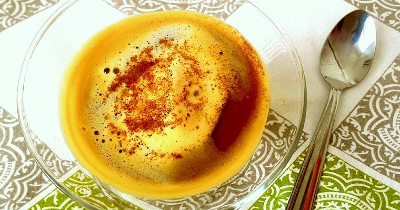 Afogatto (café espresso com sorvete)