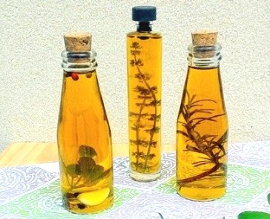 Como fazer azeites aromatizados