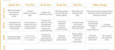 Cardápio da Semana: seleção de receitas para a semana inteira! (n. 2)