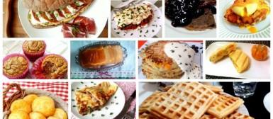 40 receitas para preparar um brunch delicioso