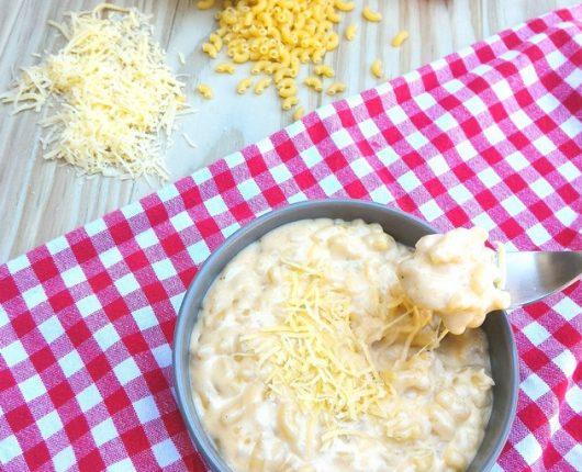 Mac'n'cheese de uma panela só (macarrão com queijo)