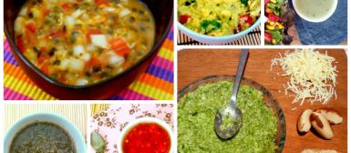30 receitas de molhos para saladas
