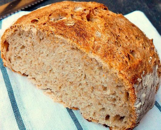 Pão de fermentação natural (Pain au levain) para o World Bread Day 2016