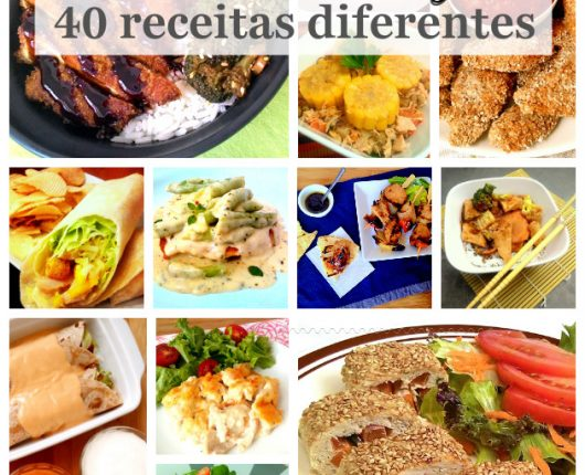 40 receitas diferentes com filé de frango para variar sempre