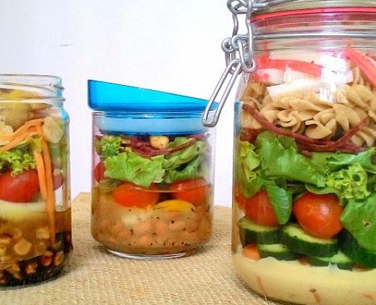 Salada no pote: como montar e ideias de ingredientes
