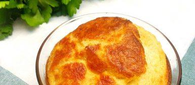 Suflê de queijo