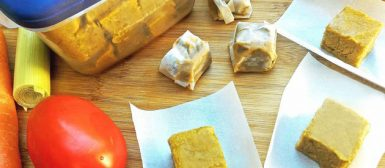 Tablete de caldo de legumes saudável — como fazer