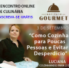 Minha palestra no I Encontro Online de Culinária
