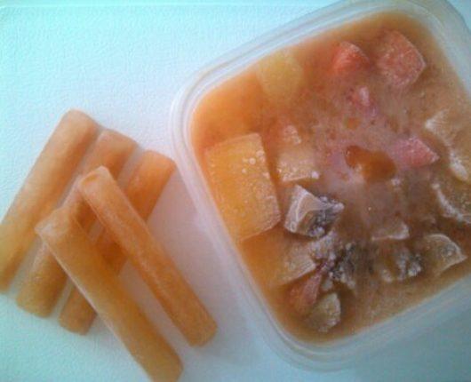 Caldo de legumes caseiro (ou de galinha, de carne, de peixe)