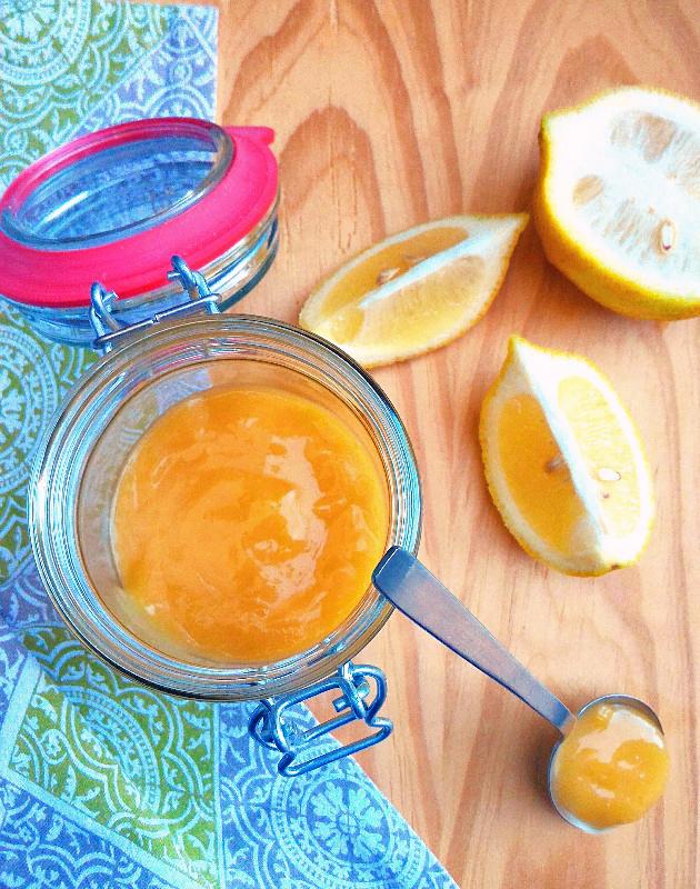 Receita de lemon curd (creme de limão siciliano)